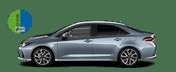 Corolla sedan hybrid