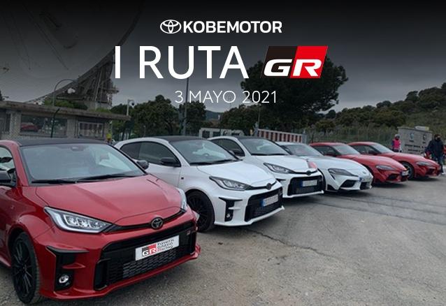 Evento Primera Ruta GR Toyota Kobe Motor 2021