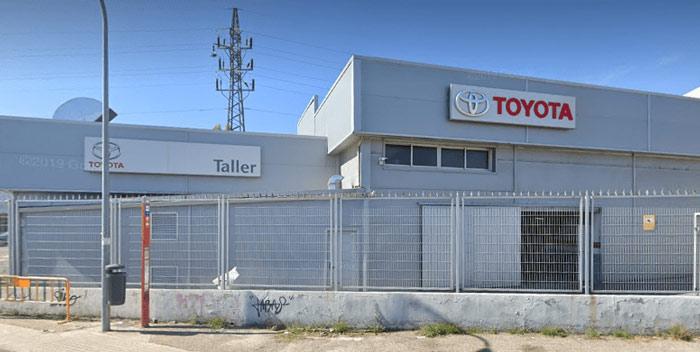 Taller Toyota Villalba