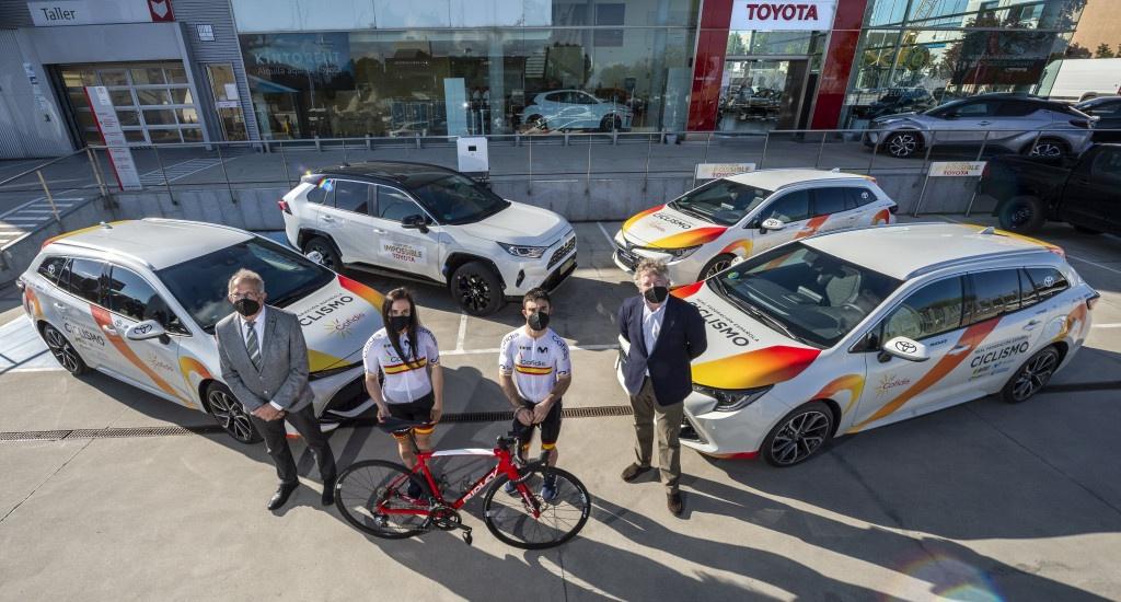 Acto entrega Toyota Kobe Motor a RFEC